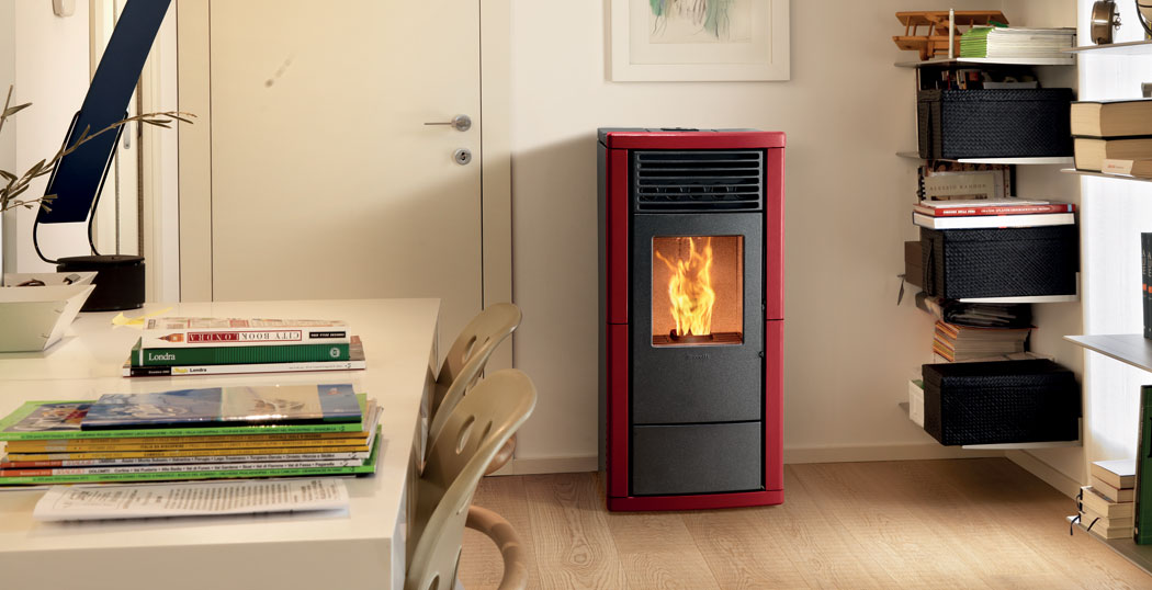 Lisa plus ventilated pellet stove ravelli group for Parametri stufa pellet ravelli